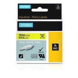 DYMO 18058 labelprinter-tape Zwart op geel