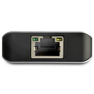 StarTech.com 3-poorts USB-C hub met LAN poort 10 Gbps 2x USB-A en 1x USB-C