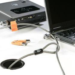 DELL 461-10053 2.2m Roestvrijstaal kabelslot