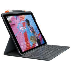 Logitech Slim Folio toetsenbord voor mobiel apparaat QWERTY Spaans Grafiet Bluetooth