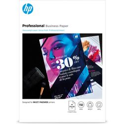 HP Inkjet en PageWide professioneel zakelijk papier, A3, glanzend, 180 gsm