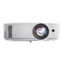 Optoma EH412ST beamer/projector 4000 ANSI lumens DLP 1080p (1920x1080) 3D Desktopprojector Wit