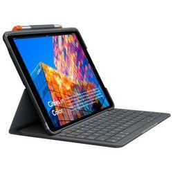 Logitech Slim Folio toetsenbord voor mobiel apparaat QWERTY Brits Engels Grafiet Bluetooth