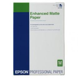 Epson Enhanced Matte Paper, DIN A3+, 192g/m², 100 Vel