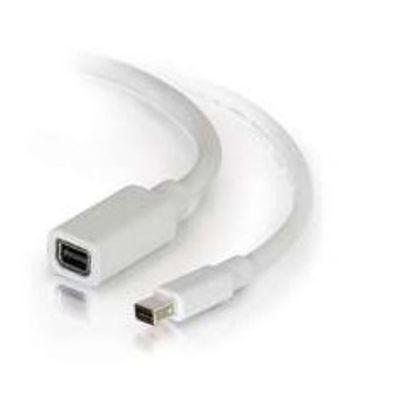 C2G 2.0m Mini DisplayPort M/F 2 m Wit