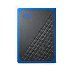 Western Digital My Passport Go 1000 GB Zwart, Blauw