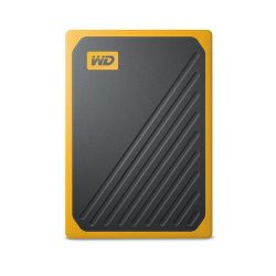 Western Digital My Passport Go 1000 GB Zwart, Geel
