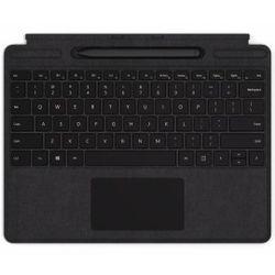 Microsoft Surface Pro X Signature Keyboard + Slim Pen Zwart Microsoft Cover port AZERTY Belgisch