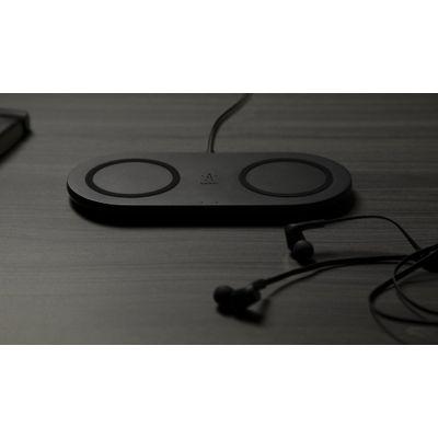 Belkin BOOST?CHARGE Qi Dual Draadloze oplader - 2 x 10W - Zwart