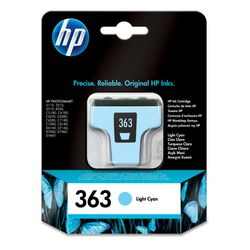 HP 363 originele licht-cyaan inktcartridge