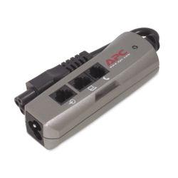 APC PNOTEPROC6-EC Overspanningsbeveiliging Zilver 1 AC-uitgang(en) 120 V