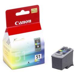 Canon CL-51 inktcartridge Cyaan, Magenta, Geel