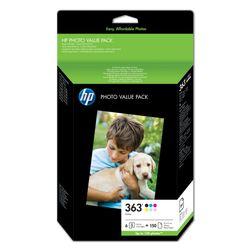 HP 363 serie foto value pack, 150 vel/10 x 15 cm