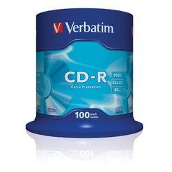 Verbatim CD-R Extra Protection CD-R 700MB 100stuk(s)