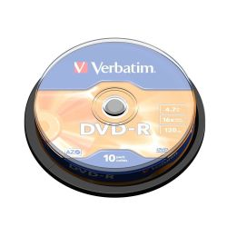 Verbatim DVD-R Matt Silver 4.7GB DVD-R 10stuk(s)