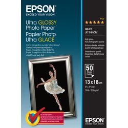 Epson Ultra Glossy Photo Paper, 130 x 180 mm, 300g/m², 50