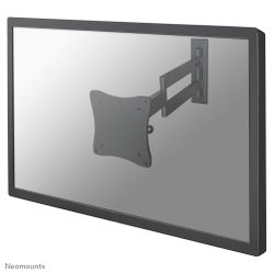 Newstar De  is een wandsteun met 3 draaipunten voor flat screens t/m 27