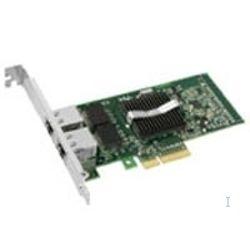 Intel PRO/1000 PT Dual Port Server Adapter, Intel 82571GB, Bedraad, 10/100/1000BaseT(X), PCI-E, IEEE 802.1p, IEEE 802.1Q, IEEE 8