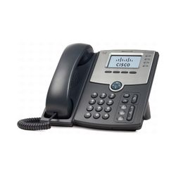 Cisco SPA 504G Handset met snoer LCD IP telefoon