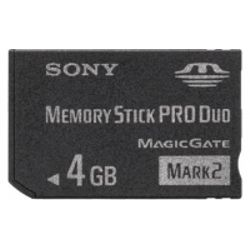 Sony MSMT4GN 4GB MS Pro Duo flashgeheugen