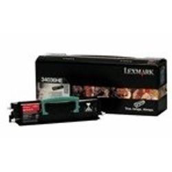 Lexmark E33x, E340, E342n 6K retourprogr. tonercartr.