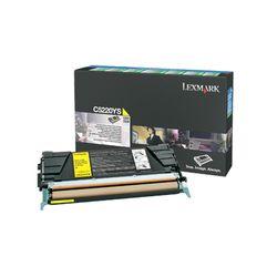 Lexmark C52x, C53x 3K gele retourprogr. tonercartr.