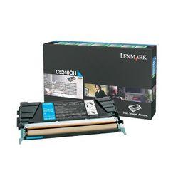 Lexmark C524, C532, C534 5K cyaan retourpr. tonercartr.