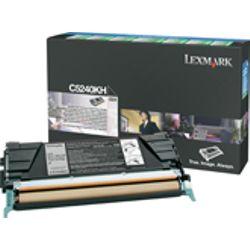 Lexmark C524, C534 8K zwarte retourpr. tonercartr.