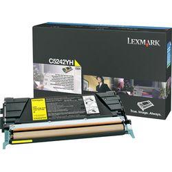 Lexmark C524, C532, C534 5K gele tonercartridge