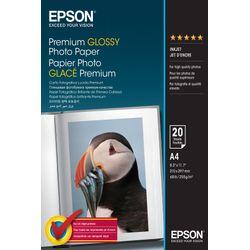 Epson Premium Glossy Photo Paper, DIN A4, 255g/m², 20 Vel