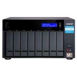 QNAP TVS-872N i3-8100T Ethernet LAN Tower Zwart NAS
