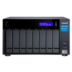 QNAP TVS-872XT i5-8400T Ethernet LAN Tower Zwart NAS
