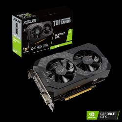 ASUS TUF Gaming TUF-GTX1650-O4GD6-GAMING NVIDIA GeForce GTX 1650 4 GB GDDR6