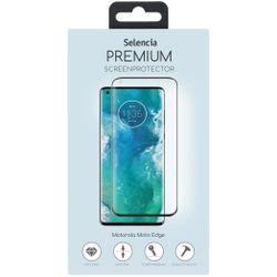 Selencia Gehard Glas Premium Screenprotector Motorola Moto Edge - Screenprotector