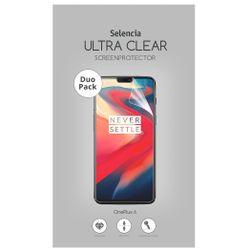 Selencia Duo Pack Ultra Clear Screenprotector OnePlus 6 - Screenprotector