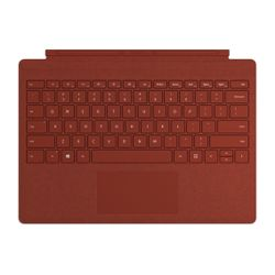 Microsoft Surface Go Signature Type Cover Engels Rood Microsoft Cover port