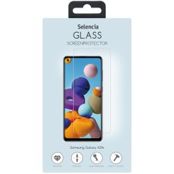 Selencia Gehard Glas Screenprotector Samsung Galaxy A21s - Screenprotector