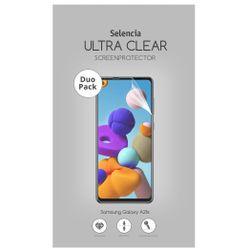 Selencia Duo Pack Ultra Clear Screenprotector Samsung Galaxy A21s - Screenprotector