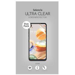 Selencia Duo Pack Ultra Clear Screenprotector LG K61 - Screenprotector