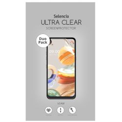 Selencia Duo Pack Ultra Clear Screenprotector LG K61 - Screenprotector