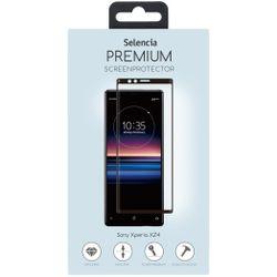 Selencia Gehard Glas Premium Screenprotector Sony Xperia XZ4 - Screenprotector