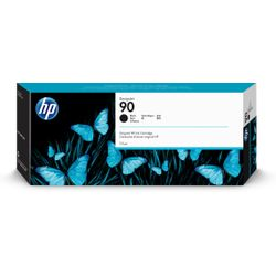 HP 90 zwarte DesignJet inktcartridge, 775 ml