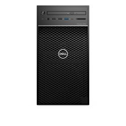 DELL Precision 3640 i7-10700 Tower Intel® 10de generatie Core™ i7 8 GB DDR4-SDRAM 256 GB SSD Windows 10 Pro Workstation Zwart