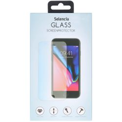Selencia Gehard Glas Screenprotector Motorola One Fusion Plus - Screenprotector