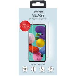Selencia Gehard Glas Anti-Bacteriële Screenprotector Galaxy A51 - Screenprotector