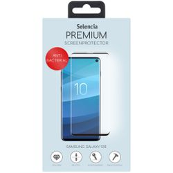Selencia Gehard Glas Anti-Bacteriële Screenprotector Galaxy S10 - Screenprotector