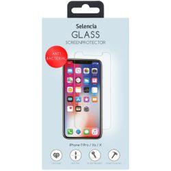 Selencia Gehard Glas Anti-Bacteriële Protector iPhone 11 Pro / Xs / X - Screenprotector