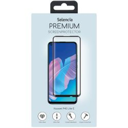 Selencia Gehard Glas Premium Screenprotector Huawei P40 Lite E - Screenprotector