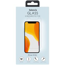 Selencia Gehard Glas Screenprotector iPhone 12 5.4 inch - Screenprotector