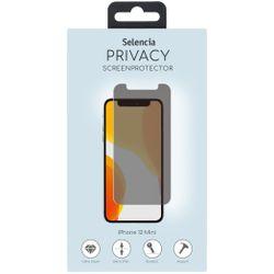 Selencia Gehard Glas Privacy Screenprotector iPhone 12 5.4 inch - Screenprotector